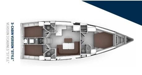 Rental yacht Gouvia - Bavaria Cruiser 46 Style on SamBoat