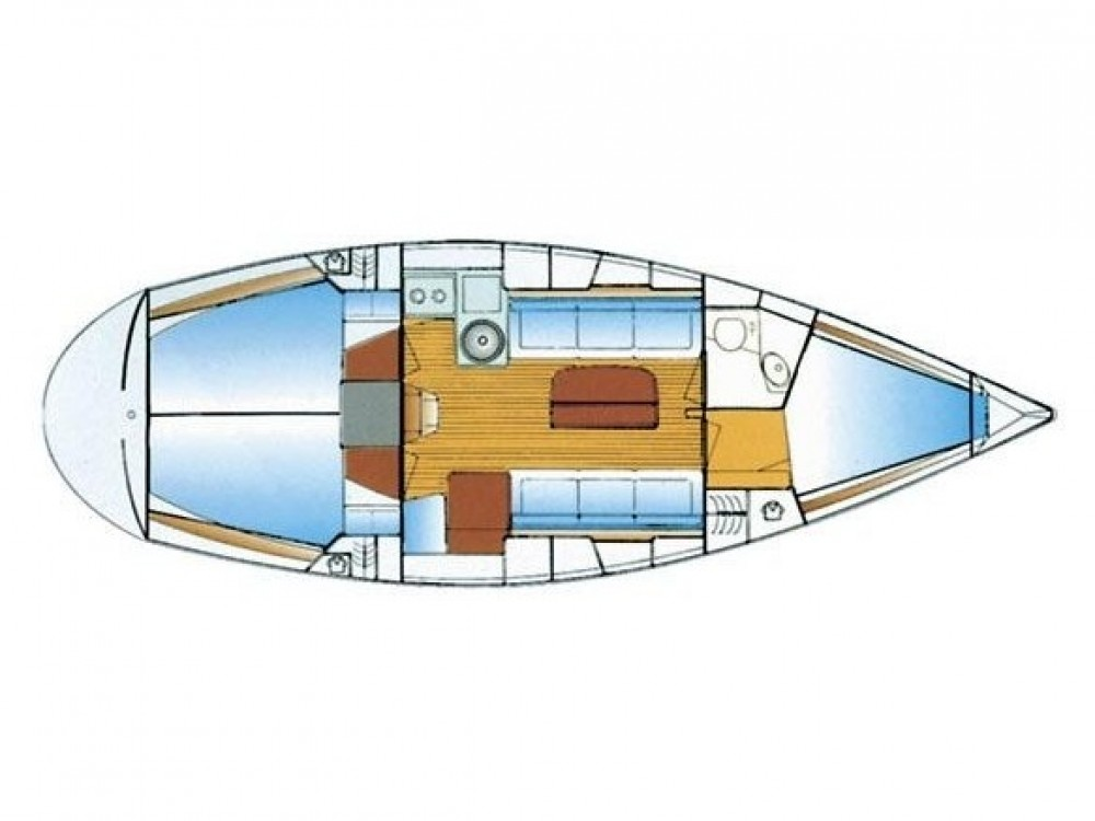 Rental yacht Marina Gouvia - Bavaria Bavaria 34 on SamBoat