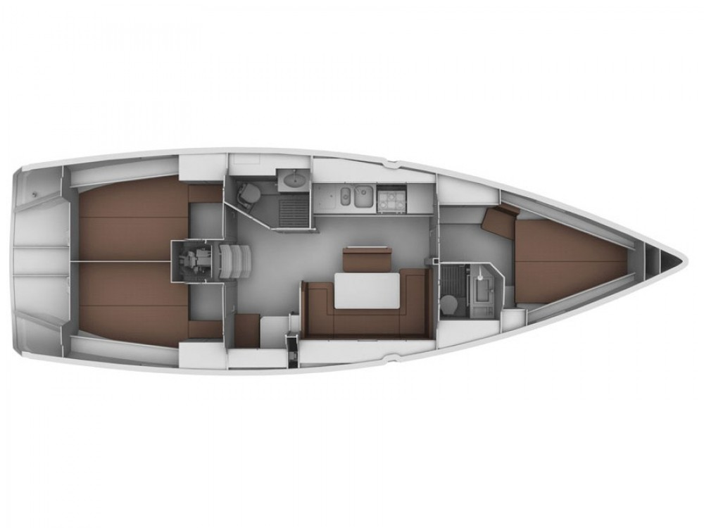 Boat rental Bavaria Bavaria Cruiser 40 in Sami on Samboat