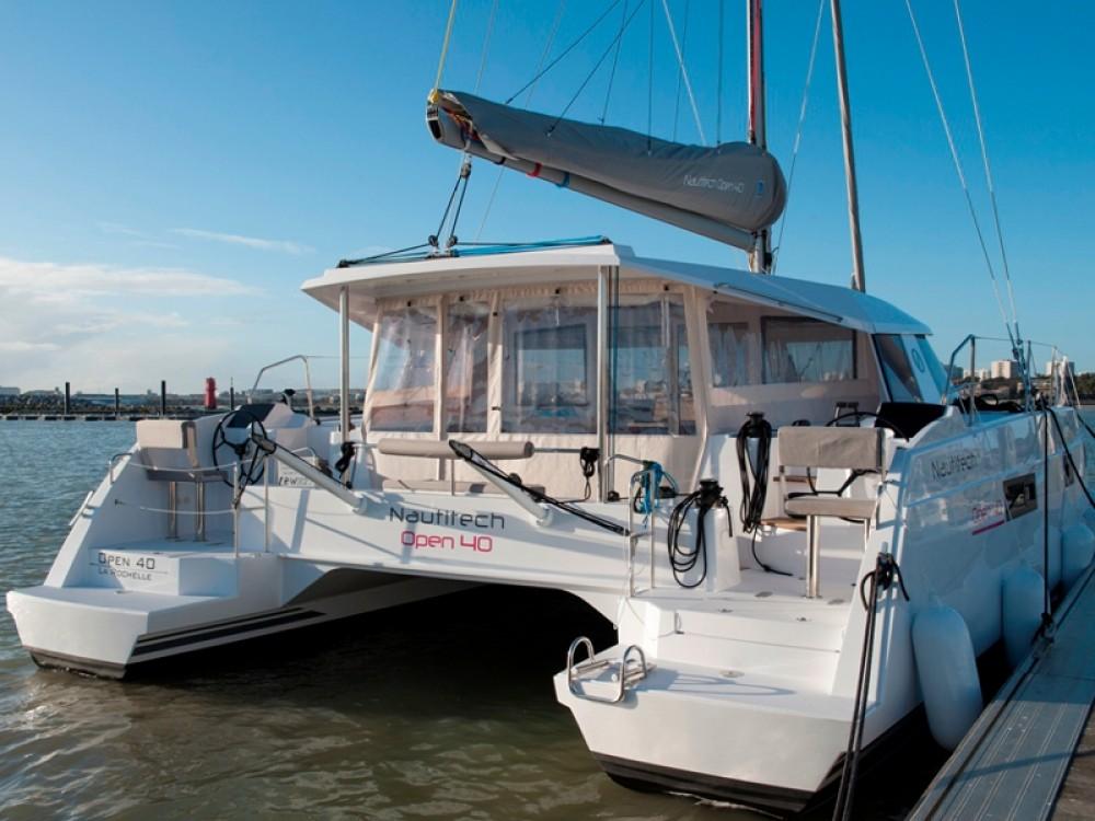 Catamaran for rent Rodas at the best price