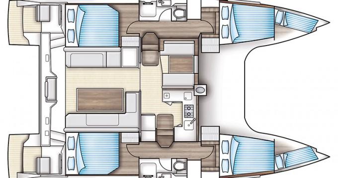 Rental yacht Sami - Nautitech Nautitech Open 40 on SamBoat