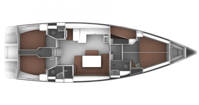 Bavaria Cruiser 51 between personal and professional Lávrio