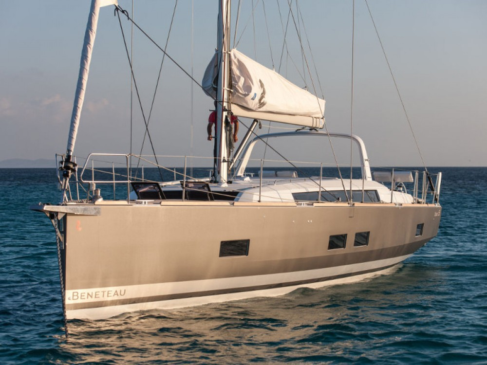 Rental Sailboat in Gavà - Bénéteau Oceanis 55