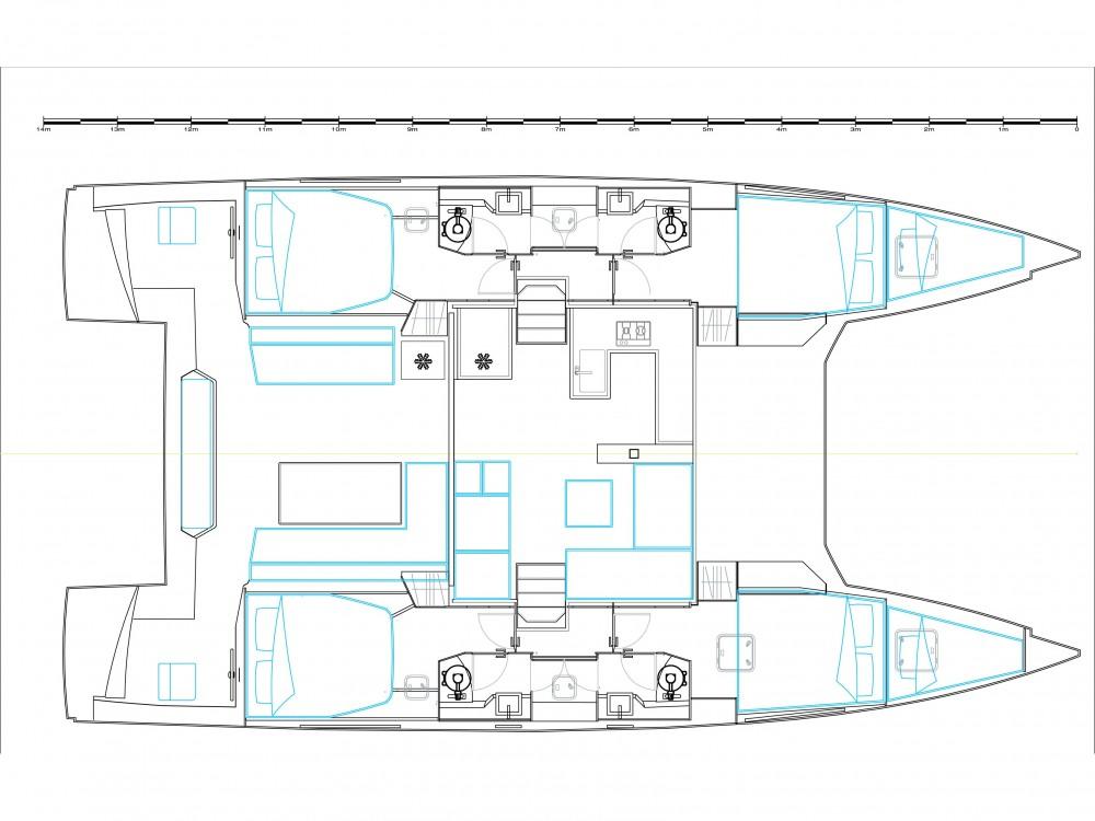 Rental yacht Marina Gouvia - Nautitech Nautitech 46 Fly on SamBoat