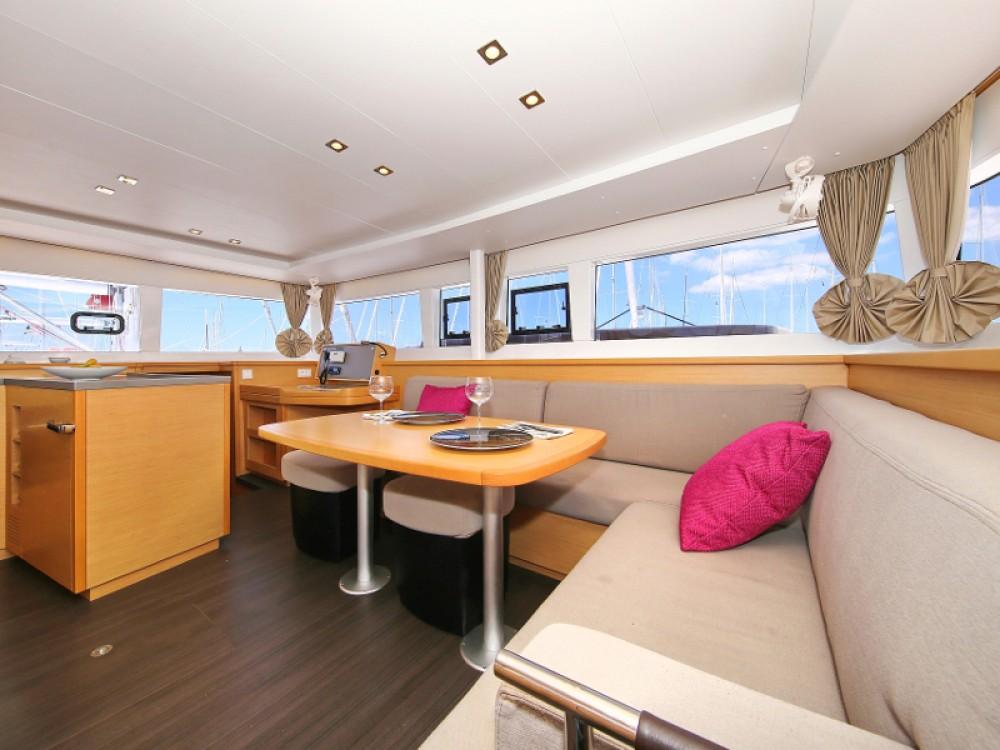 Boat rental Marina Pirovac cheap Lagoon 450  Flybridge