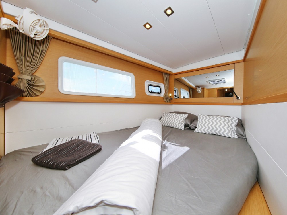 Rental Catamaran in Marina Pirovac - Lagoon Lagoon 450  Flybridge