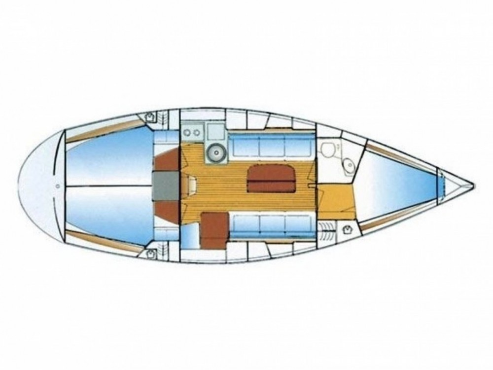 Rental yacht Pirovac - Bavaria Bavaria 34 on SamBoat