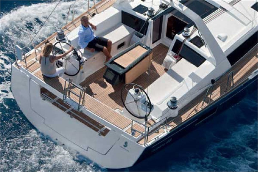 Bénéteau Oceanis 48 between personal and professional Marina Kaštela