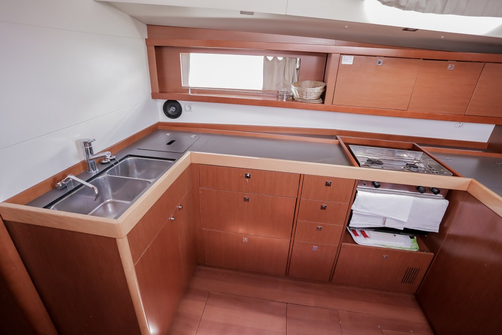 Boat rental Marina Kaštela cheap Oceanis 48