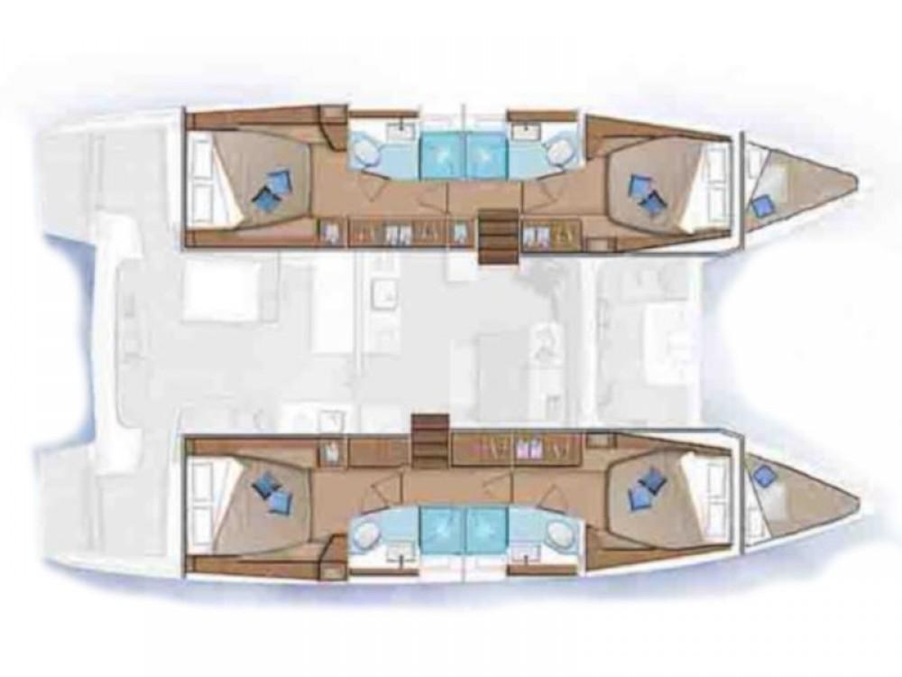 Rental yacht Cienfuegos - Lagoon Lagoon 46 on SamBoat