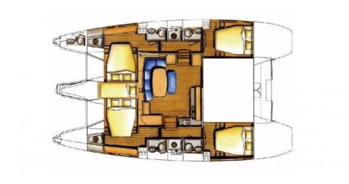Rental yacht Cienfuegos - Lagoon Lagoon 421 on SamBoat