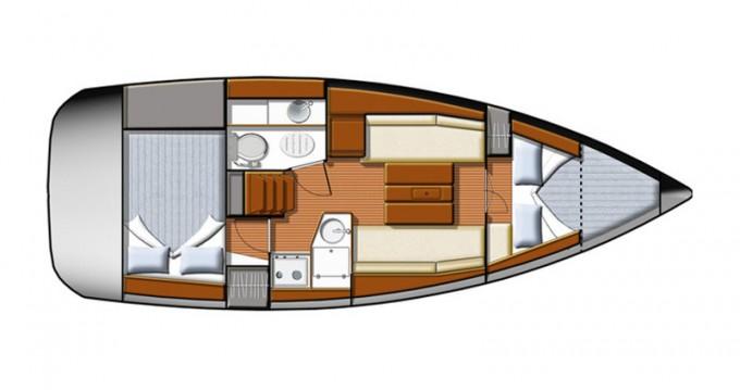 Rental yacht Yerseke - Jeanneau Sun Odyssey 30 i on SamBoat