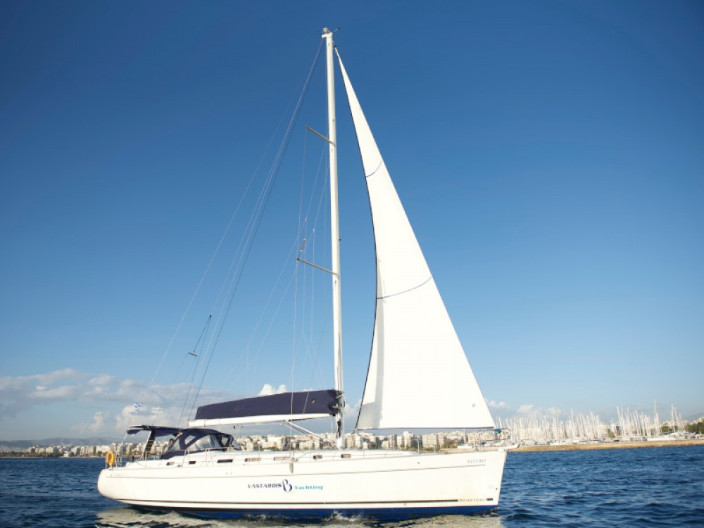 Bénéteau Cyclades 50.5 between personal and professional Rhodes