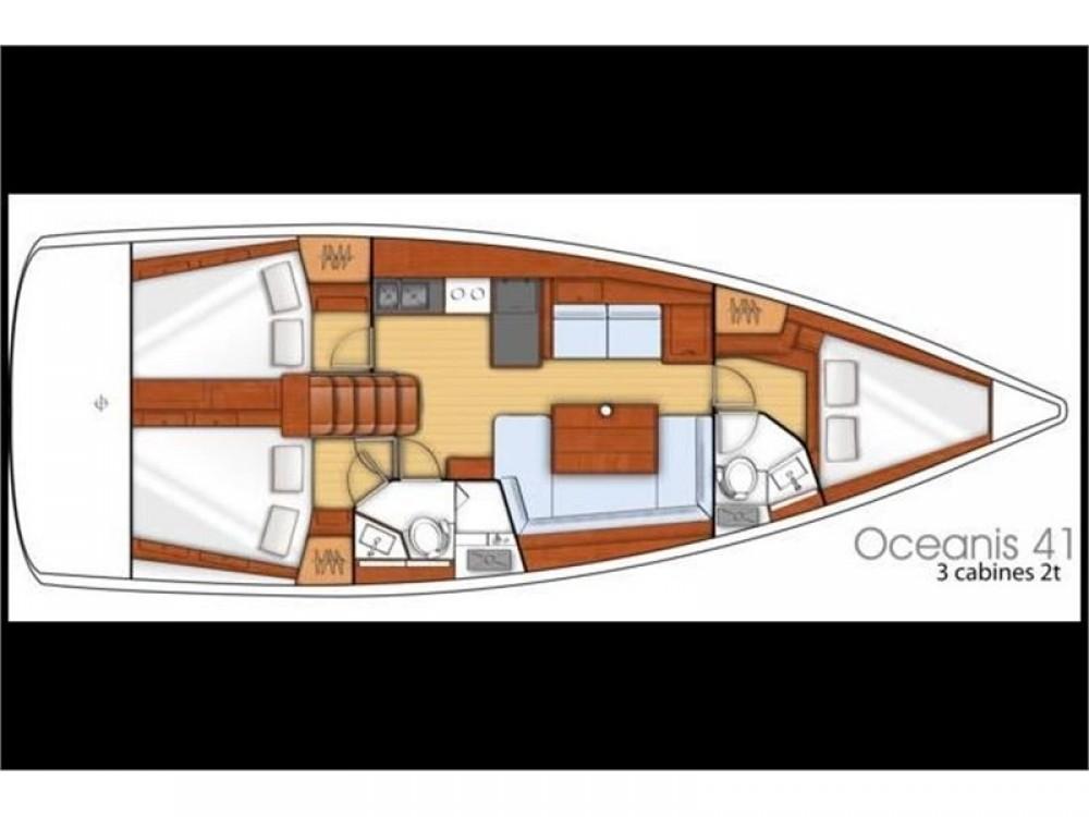 Rental yacht Alimos Marina - Bénéteau Oceanis 41 on SamBoat
