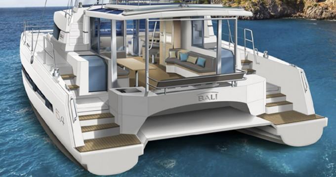 Rental yacht Alimos - Bali Catamarans Bali 5.4 on SamBoat