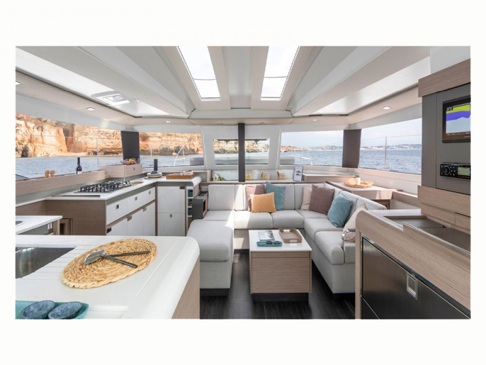 Boat rental Álimos cheap Fountaine Pajot Elba 45