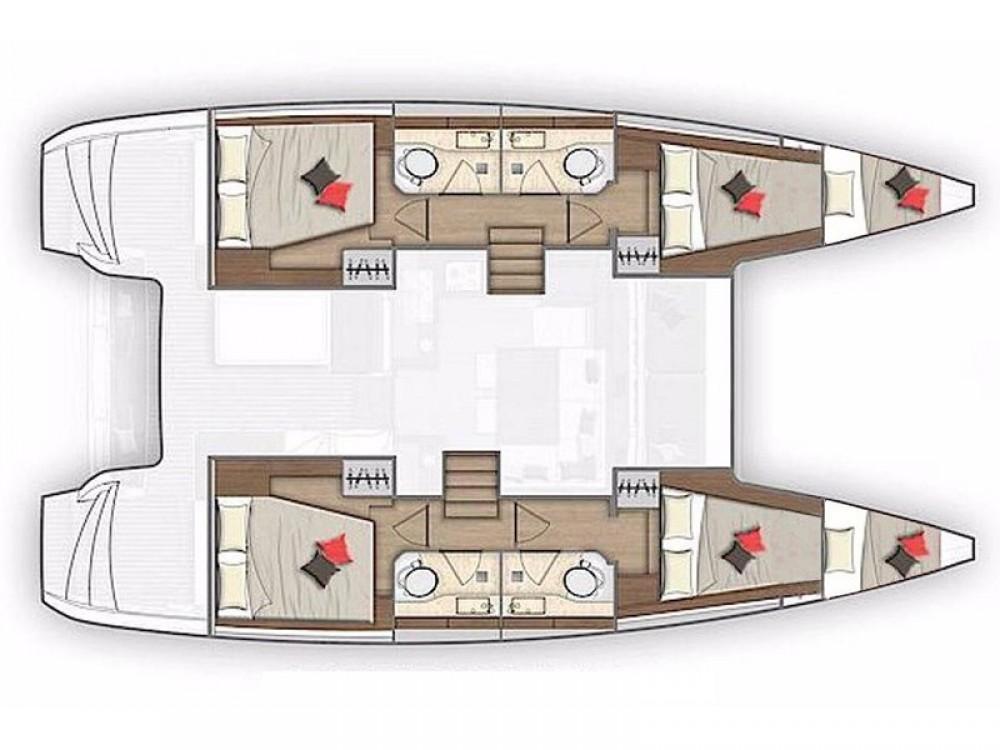 Rental Catamaran in Alimos Marina - Lagoon Lagoon 40