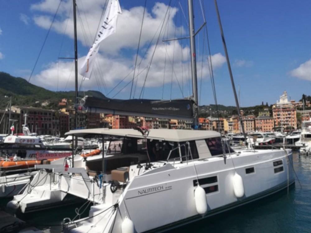 Boat rental Cagliari - Casteddu cheap Nautitech Open 40