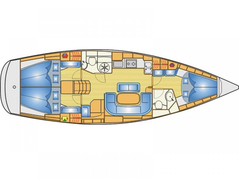 Rental yacht Lefkada - Bavaria Bavaria 40 Cruiser S on SamBoat