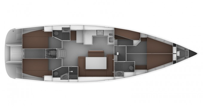 Bavaria Cruiser 50 between personal and professional Follonica