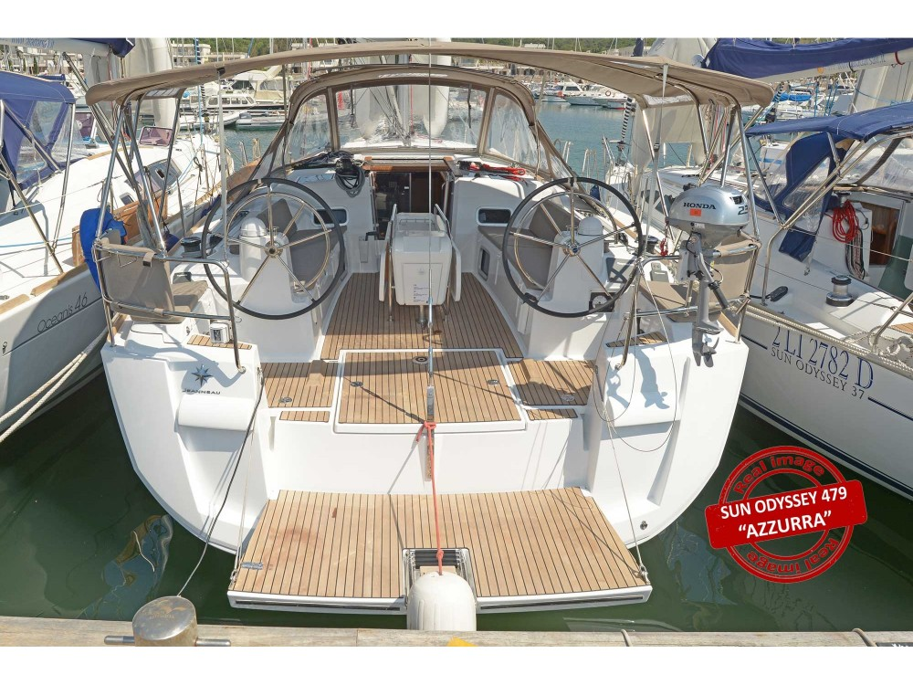 Rental yacht Follonica - Jeanneau Sun Odyssey 479 on SamBoat