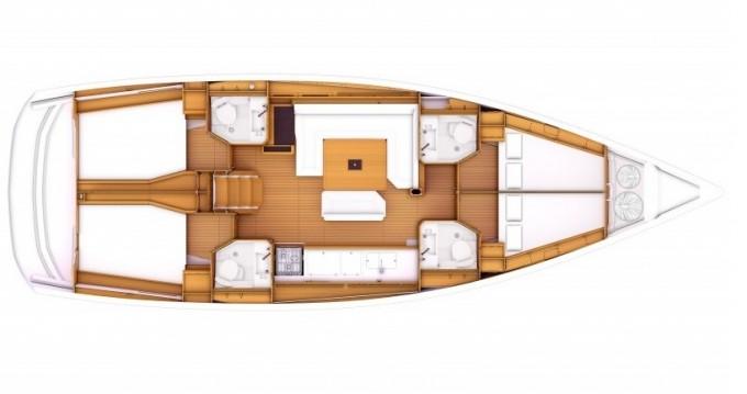 Rental yacht Follonica - Jeanneau Sun Odyssey 479 on SamBoat