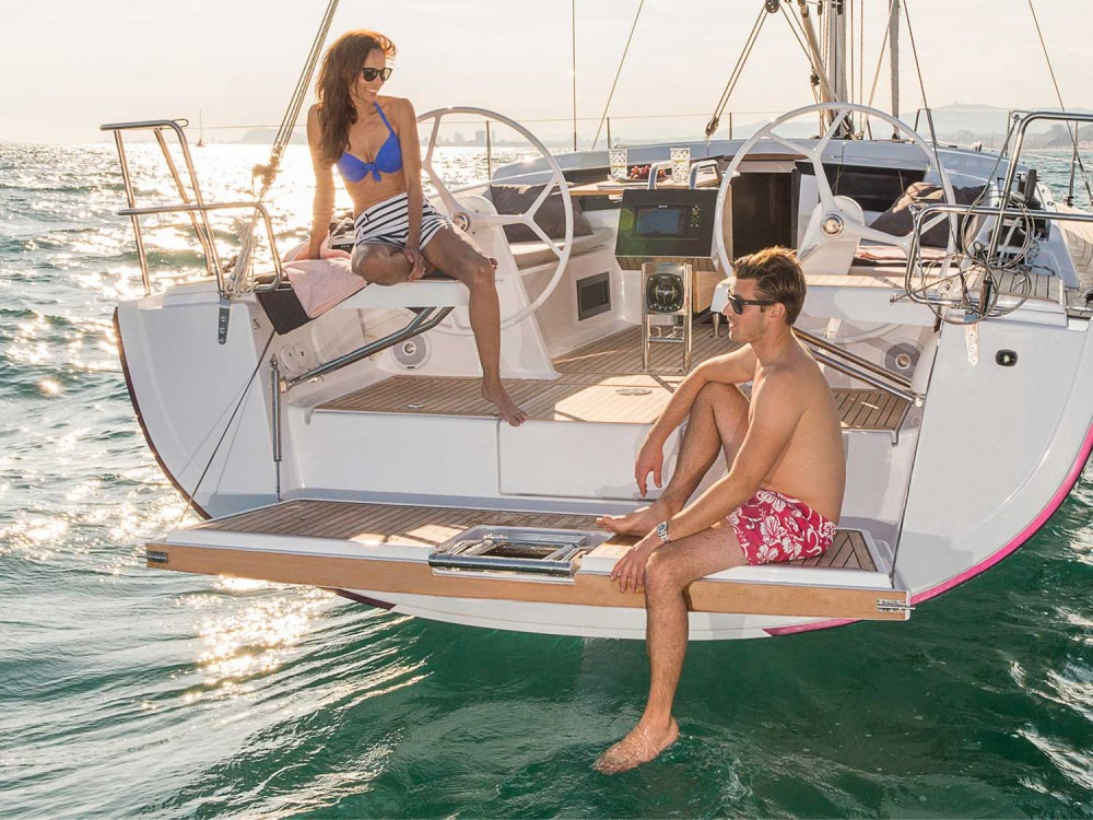 Boat rental Follonica cheap Hanse 388