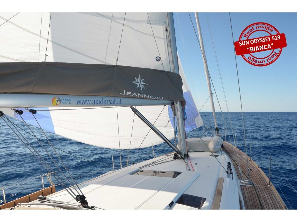 Rental yacht Follonica - Jeanneau Sun Odyssey 519 on SamBoat