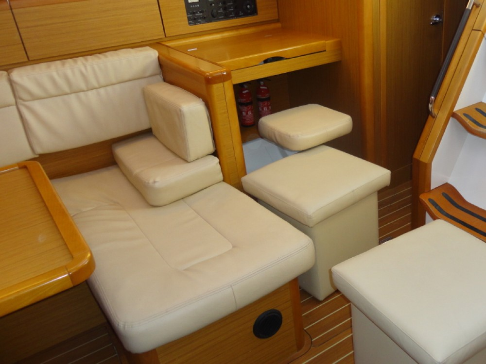 Boat rental Lefkada cheap Jeanneau Sun Odyssey 44i