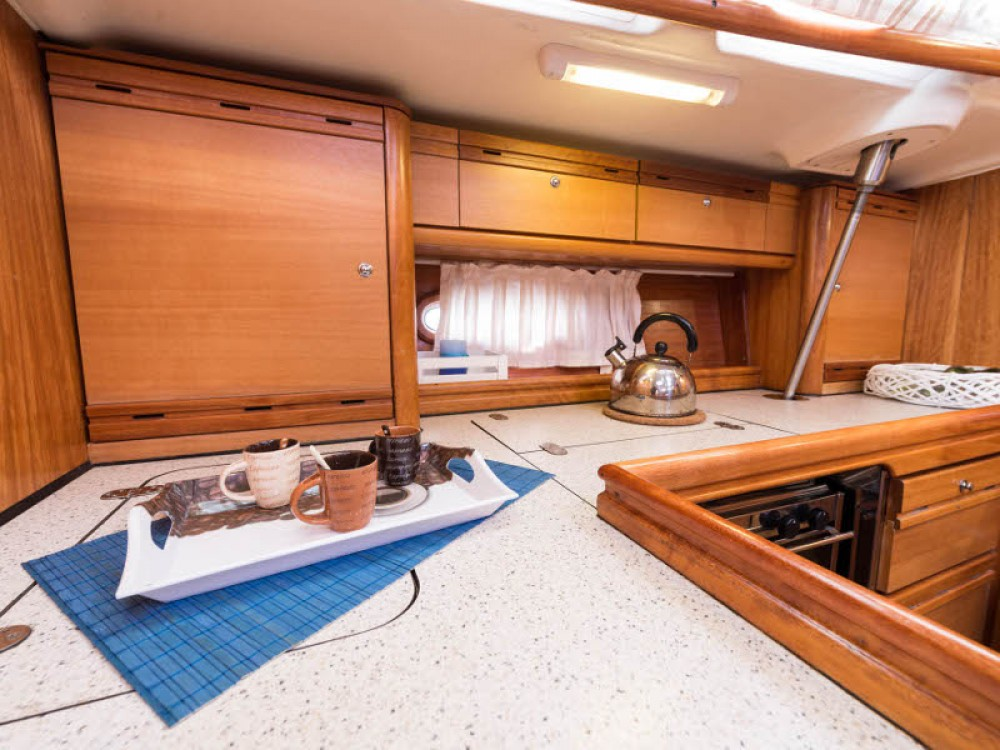 Boat rental Lefkada cheap Bavaria 46 Cruiser