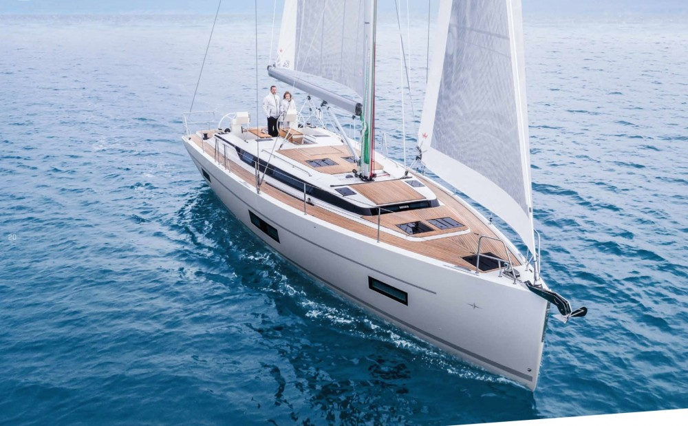Boat rental Lefkada cheap Bavaria C45