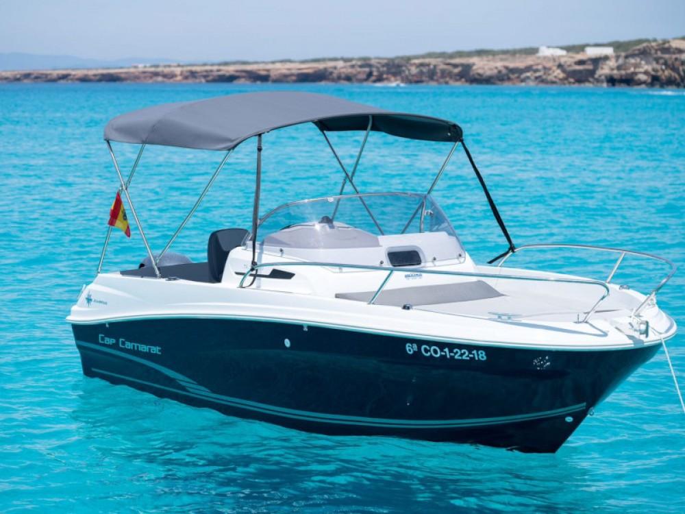 Rental yacht Ibiza - Jeanneau Cap Camarat 5.5 WA S2 on SamBoat