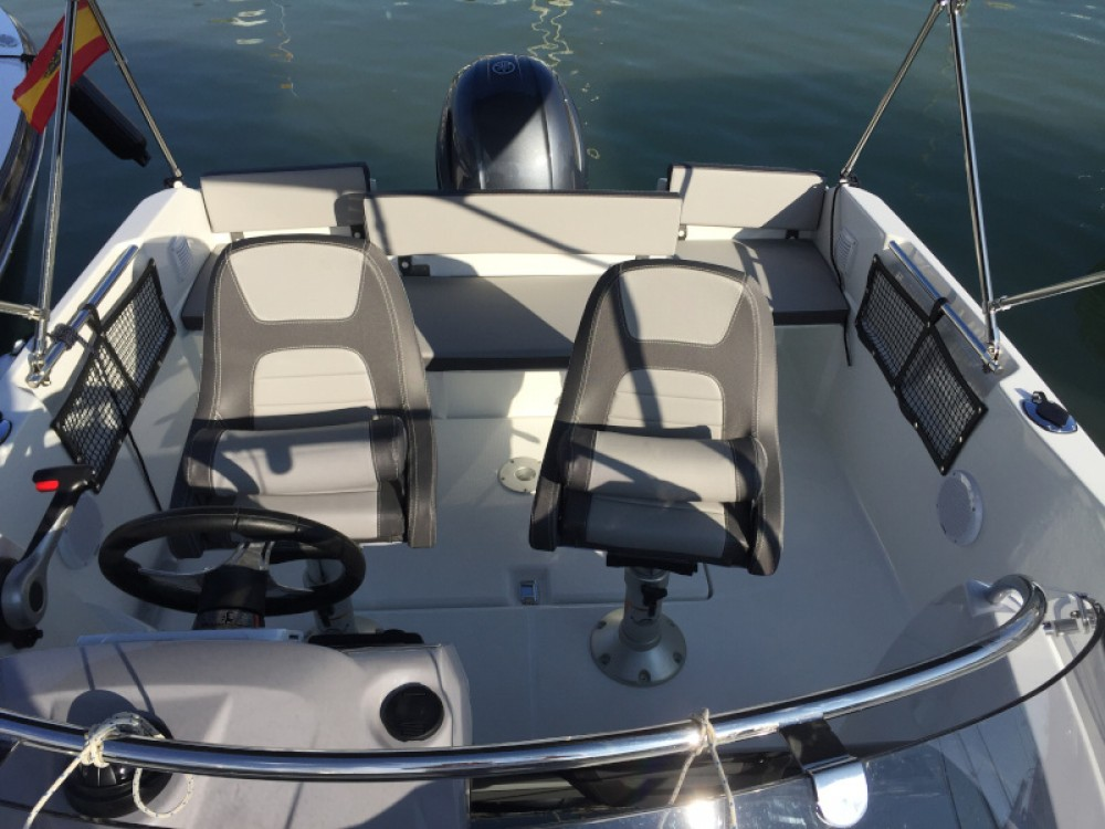 Boat rental Ibiza cheap Cap Camarat 5.5 WA S2