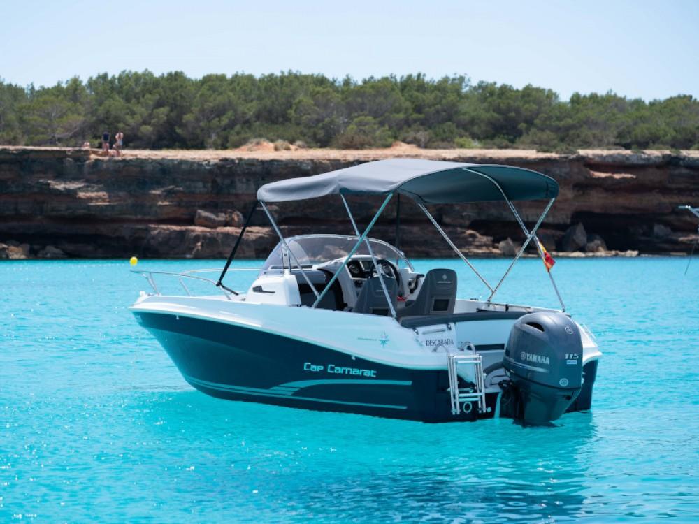 Rental Motorboat in Ibiza - Jeanneau Cap Camarat 5.5 WA S2