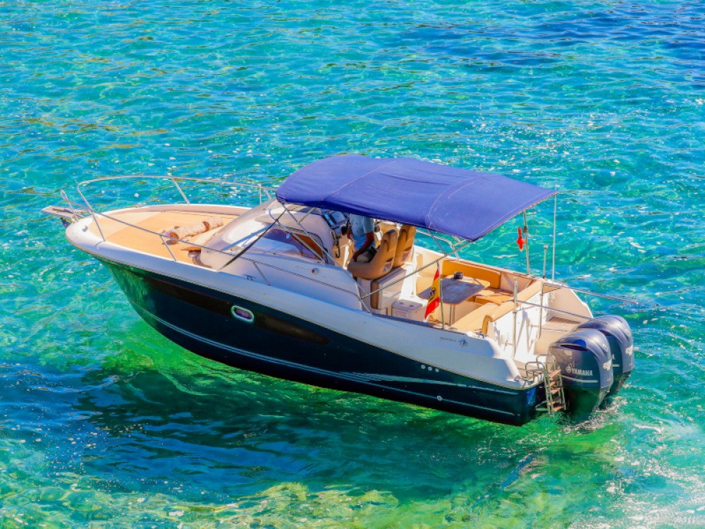 Boat rental Jeanneau Cap Camarat 8.5 WA in Ibiza on Samboat