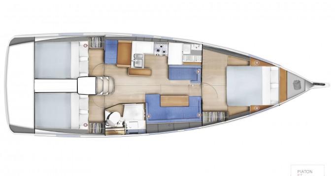 Rental Sailboat in Nettuno - Jeanneau Sun Odyssey 410