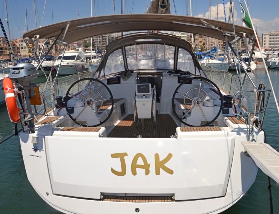 Rental Sailboat in Nettuno - Jeanneau Sun Odyssey 449