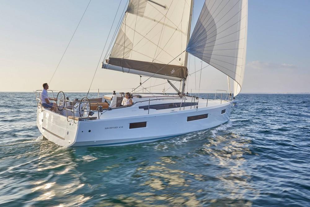 Rental Sailboat in Orhaniye Mahallesi - Jeanneau Sun Odyssey 410