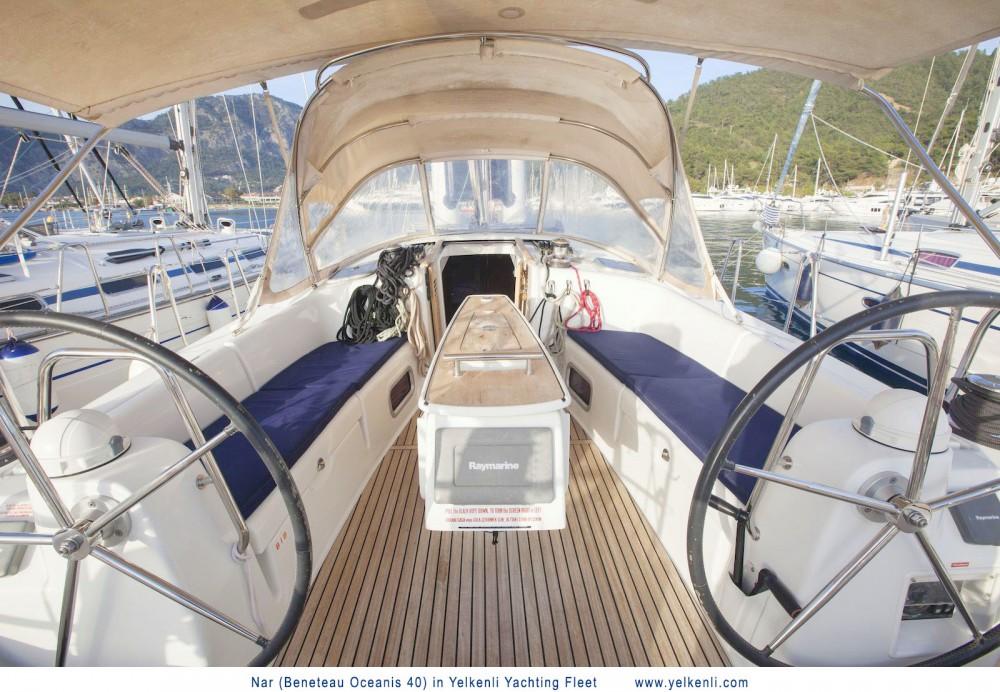 Boat rental Muğla cheap Oceanis 40