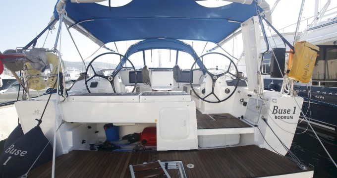 Rental yacht Bodrum - Dufour Dufour 412 Grand Large on SamBoat