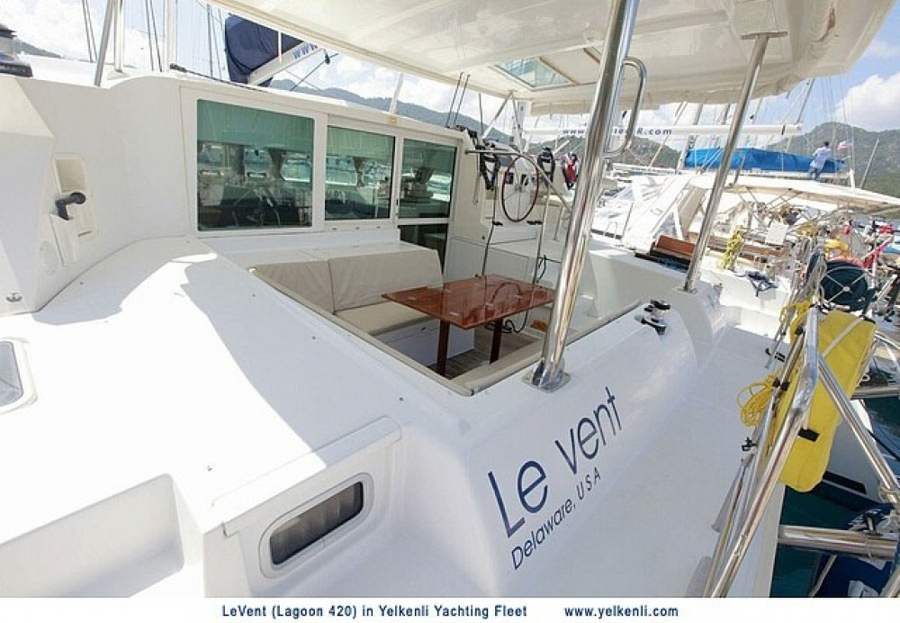 Hire Catamaran with or without skipper Lagoon Muğla