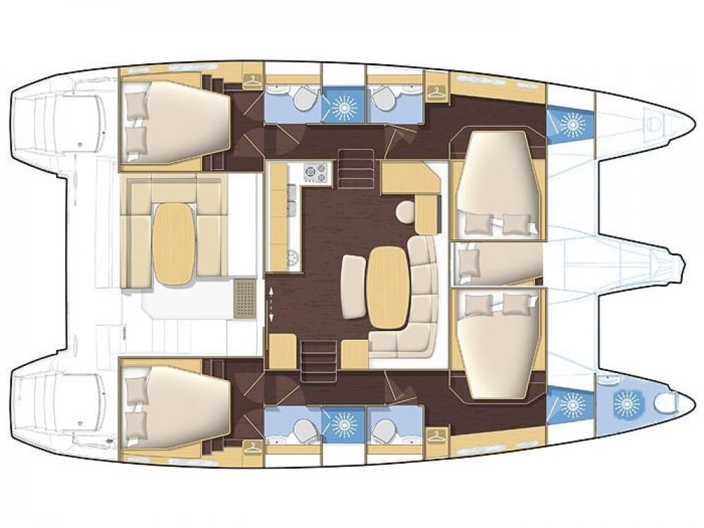 Rental yacht Muğla - Lagoon Lagoon 420 on SamBoat