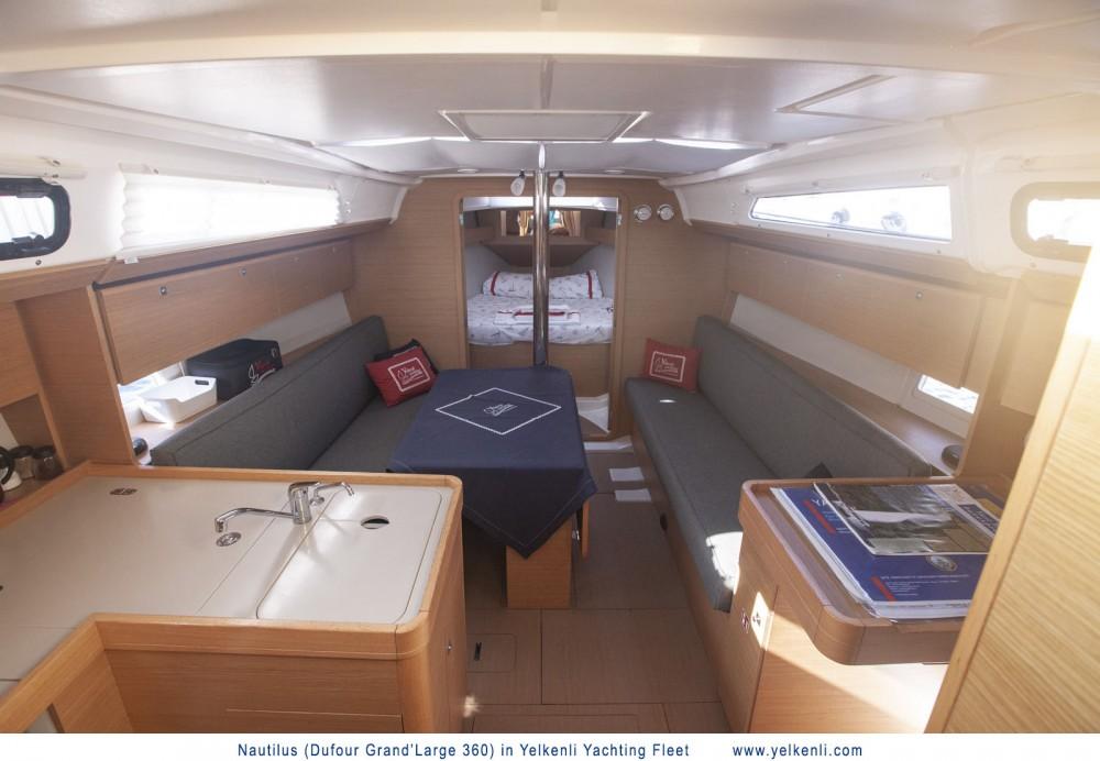 Rental yacht Orhaniye Mahallesi - Dufour Dufour 360 GL on SamBoat