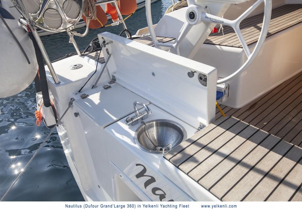 Boat rental Orhaniye Mahallesi cheap Dufour 360 GL