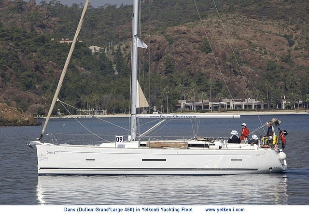Dufour Dufour 450 GL between personal and professional Bodrum