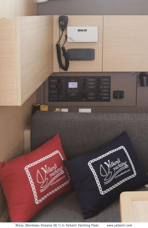 Boat rental Bursa cheap Oceanis 38.1