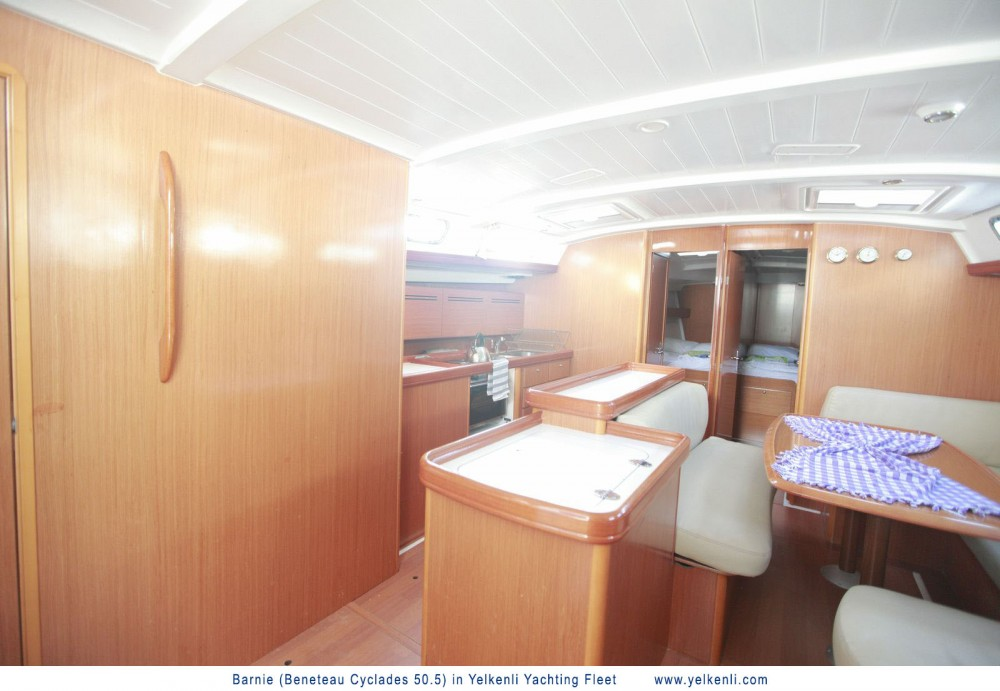 Boat rental Orhaniye cheap Cyclades 50.5