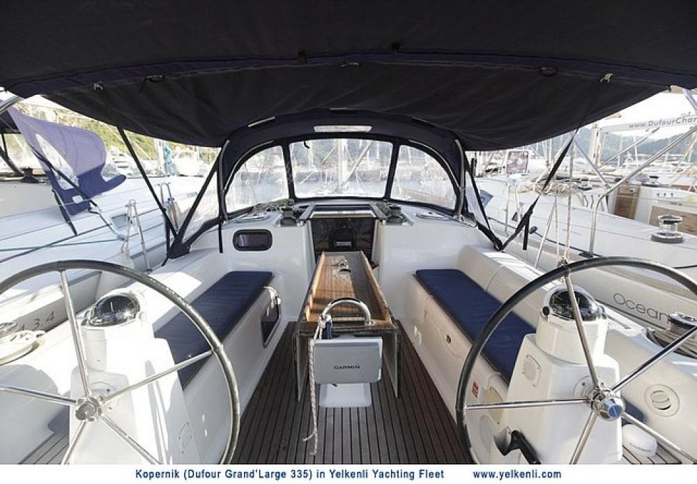 Rental yacht Orhaniye - Dufour Dufour 335 GL on SamBoat