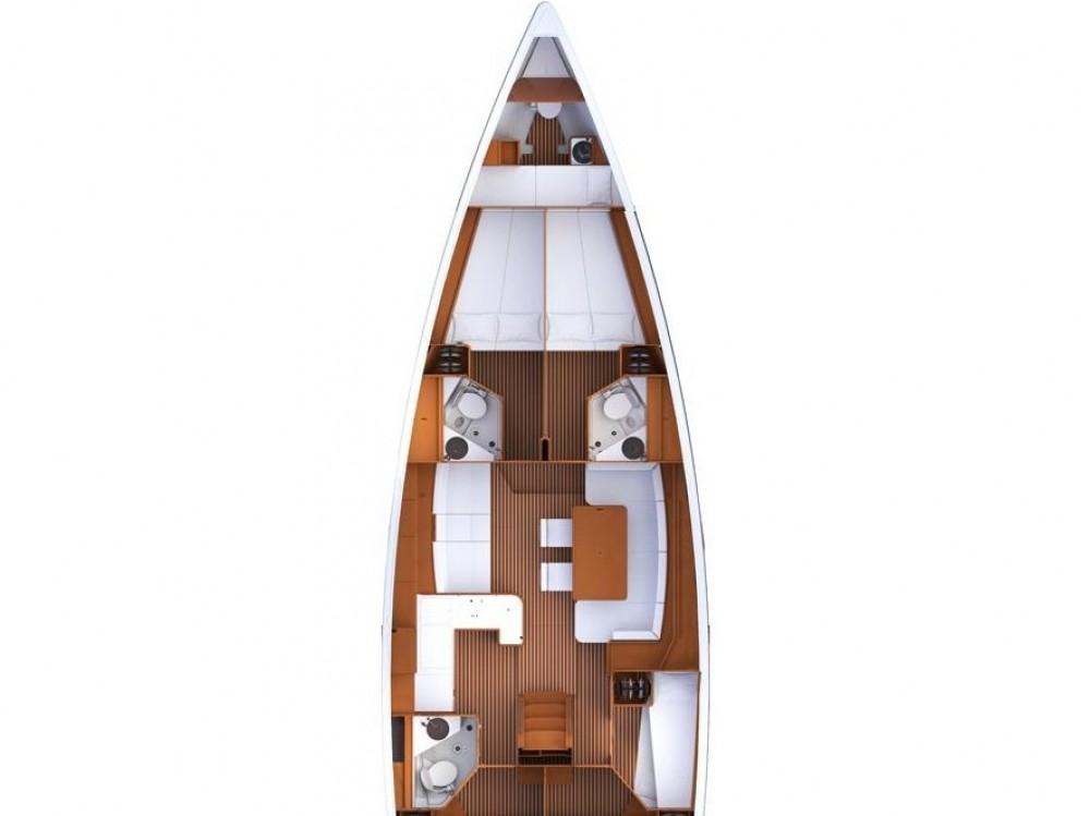 Boat rental Jeanneau Jeanneau 53 in ACI Marina Split on Samboat