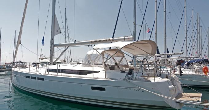 Rental Sailboat in Split - Jeanneau Sun Odyssey 509